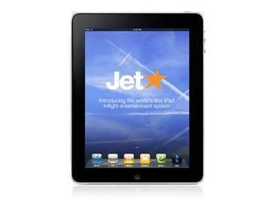 Jetstar to offer iPads in-flight