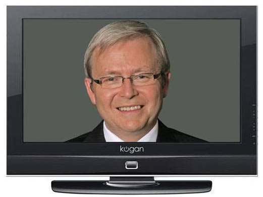 Rudd stimulus inspires the Kevin37, a TV priced at $900