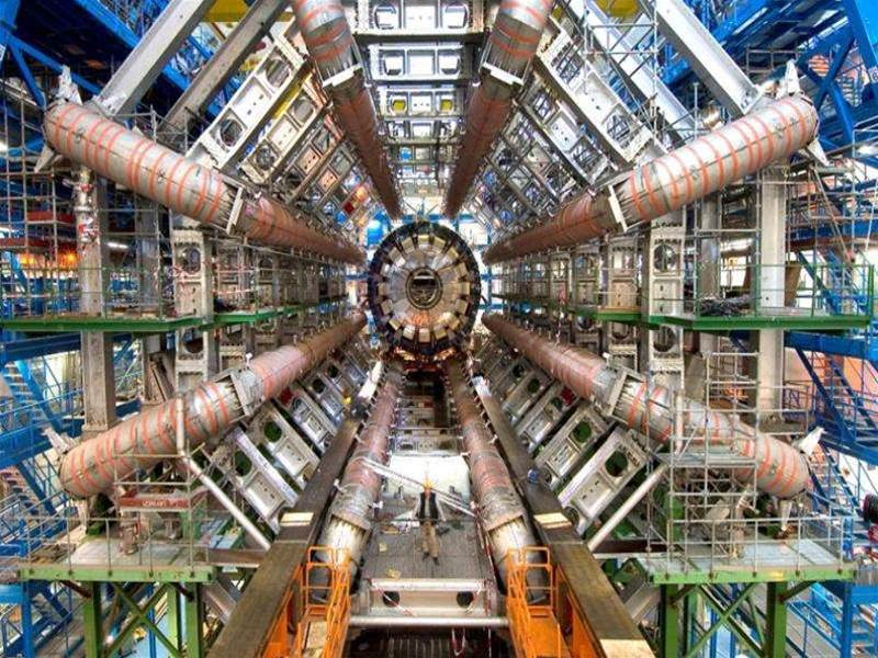Hadron Collider powers up to new energy record