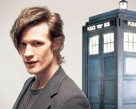 The Doctor plays Glastonbury