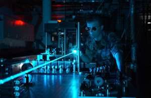 Germanium laser fires up