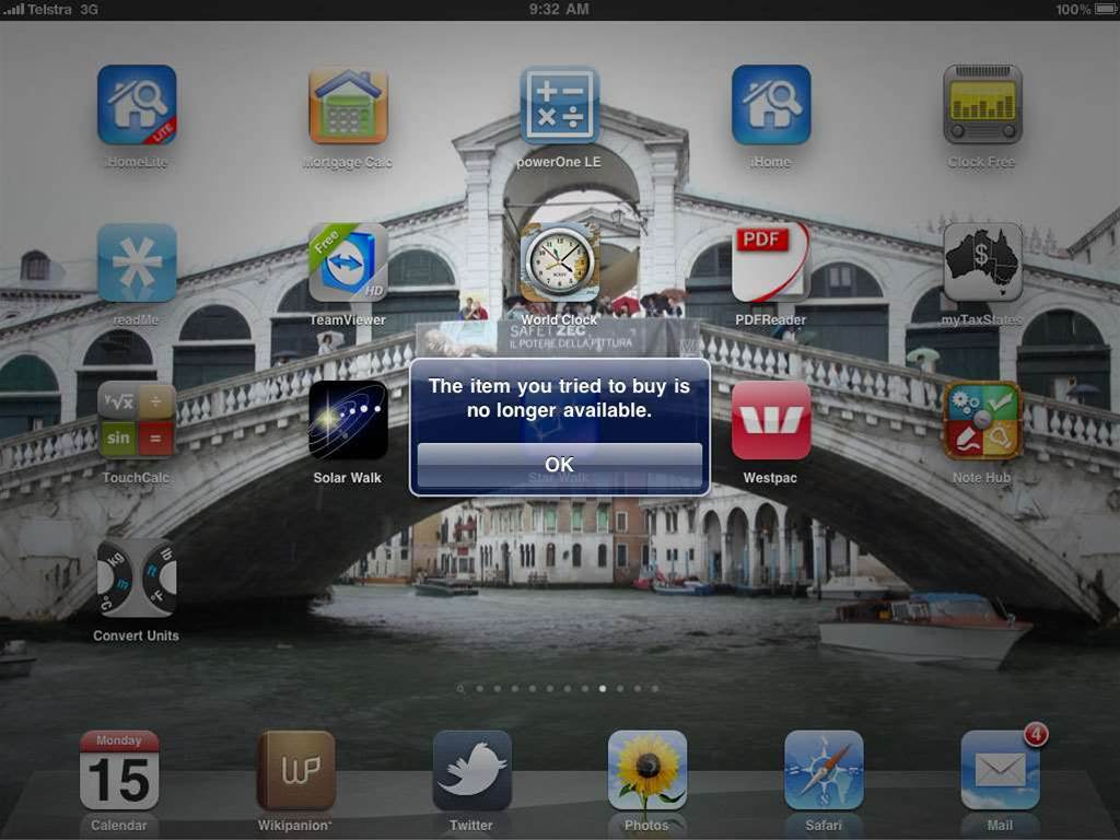 Glitches disrupt downloads of NAB's iPad, iPhone apps