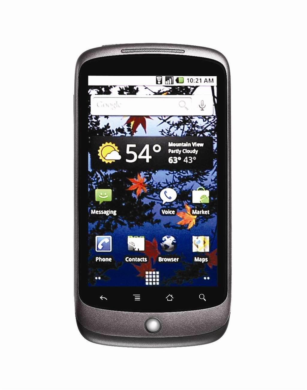Google Nexus One lifeline activated