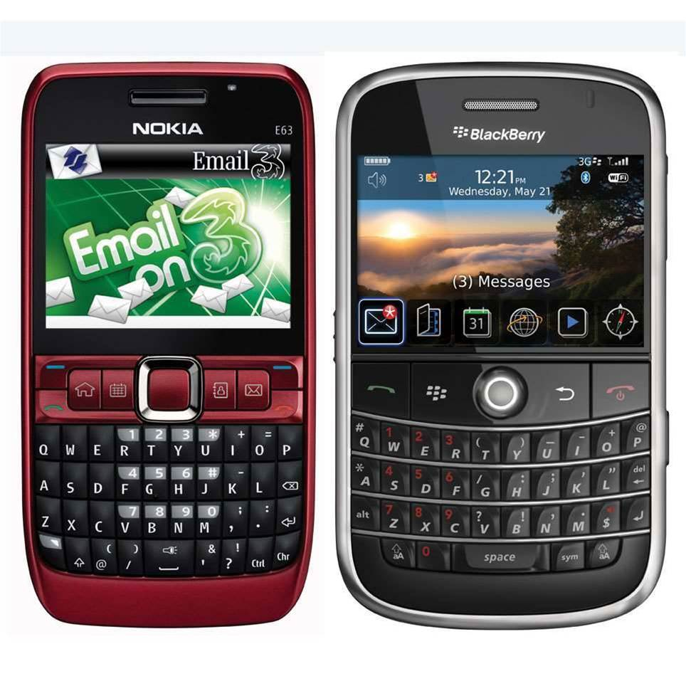 Head to head: Nokia takes on Blackberry