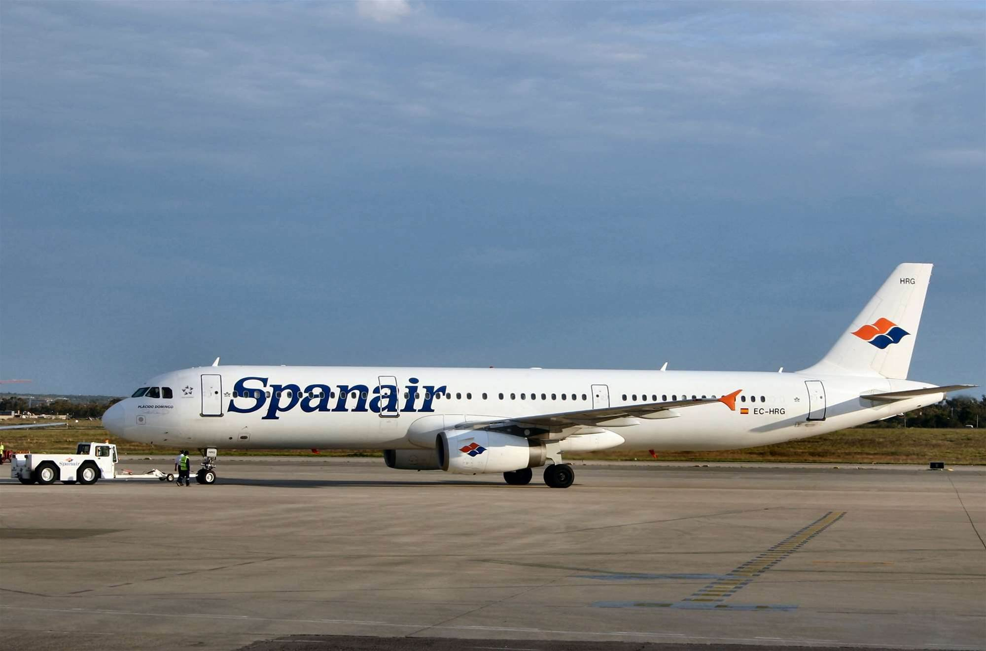 Trojans linked to Spanish air crash