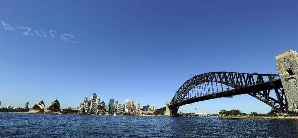 Azure to go live to Australia in April
