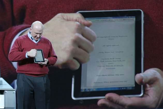 "Microsoft cheekily demos ""slate"" device, as  world's biggest tech expo kicks off"