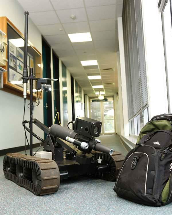 DSTO shows off two new Land Warfare robots