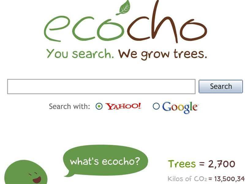 Google ditches green search engine for planting trees