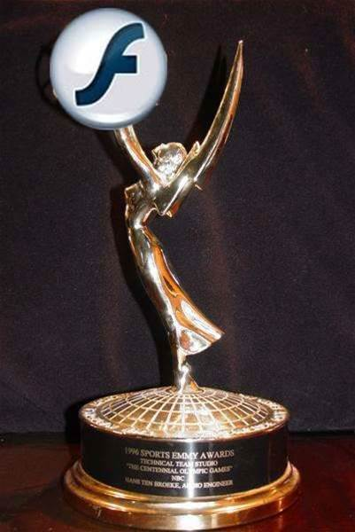 Adobe snaps up Emmy award for Flash Video