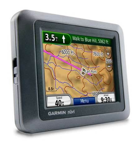 Dual GPS does driving and off road hiking