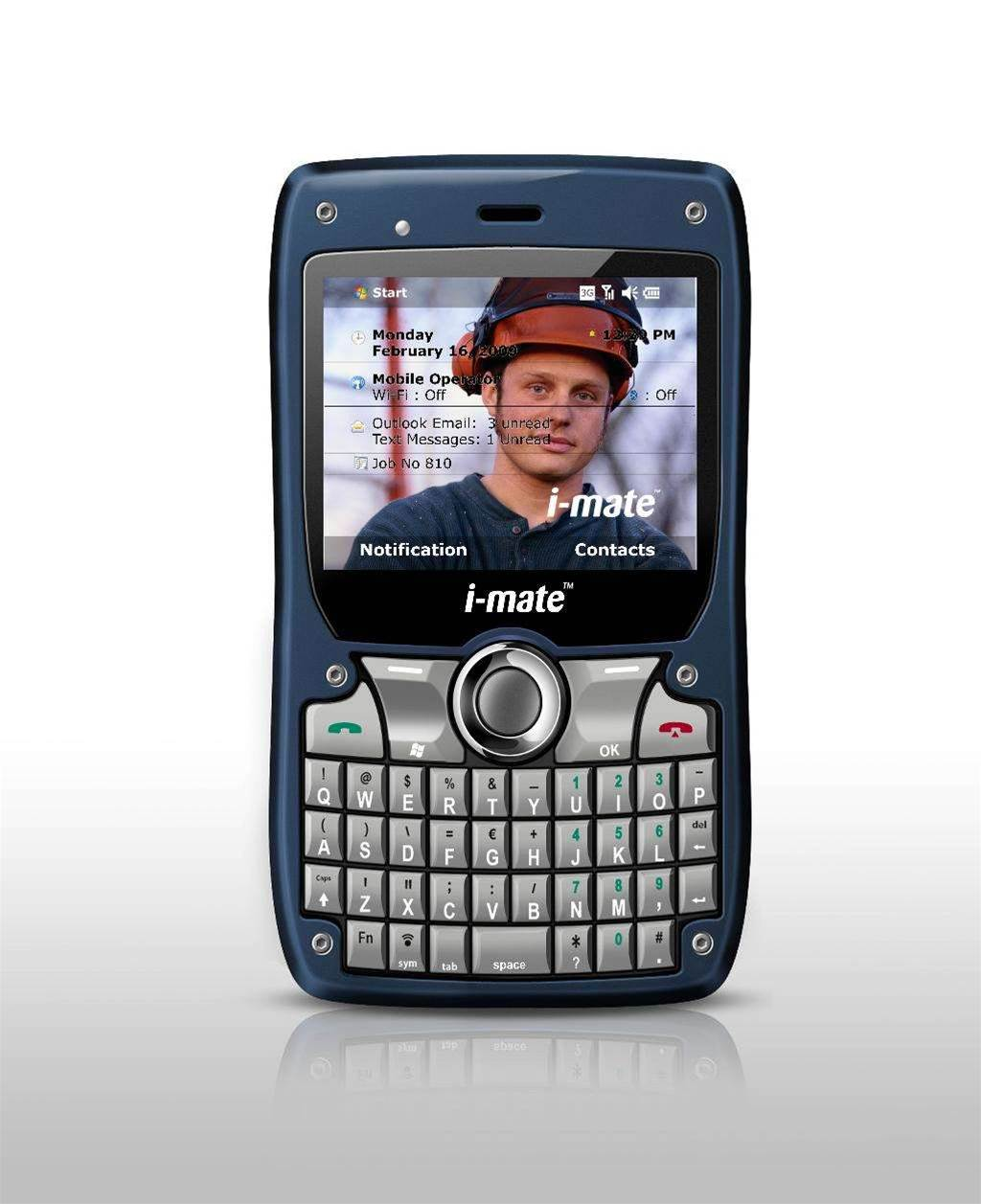 i-mate launches 810F smartphone