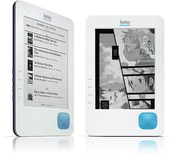 Borders to sell Kobo e-Book reader for $199