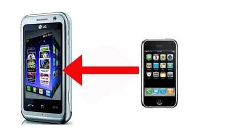 LG Arena looks like an iPhone, feels like an iPhone, but isn't an iPhone