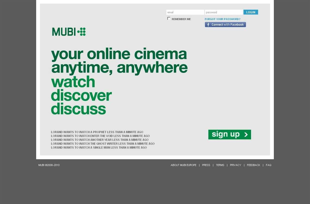 Mubi debuts on PlayStation 3