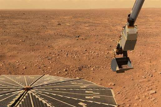 Martian winter claims Phoenix probe