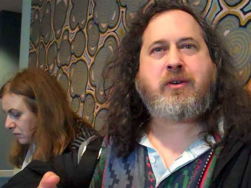 Stallman crashes European Patent session