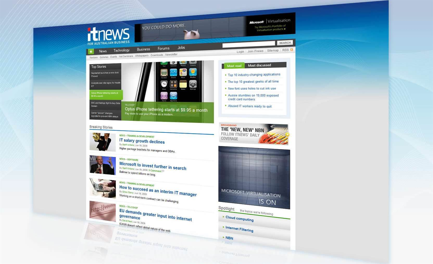 Haymarket launches new-look iTnews!