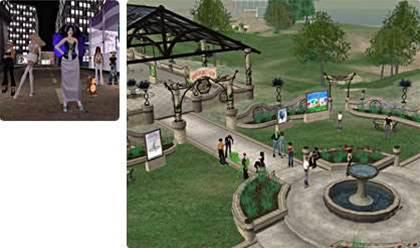 Cyber-terrorists storm Second Life