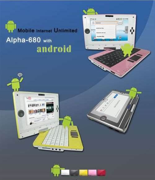 First Android netbook due out this winter