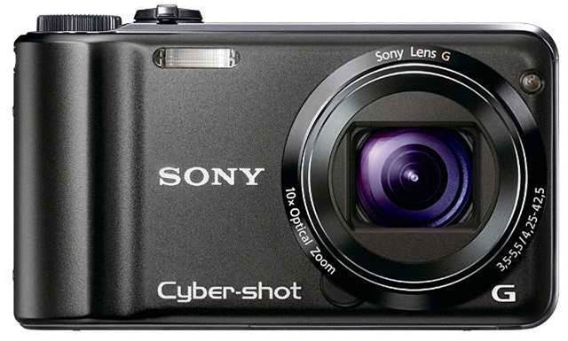 Get lost with the Sony's Cyber-shot DSCHX5V, thanks to built in compass and GPS