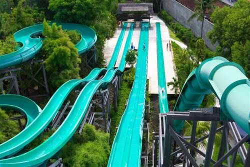 Microsoft fakes waterslide stunt to promote Project