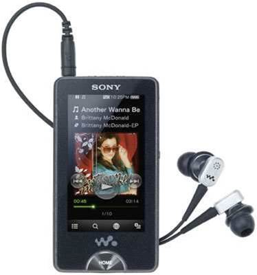Sony has the X-factor: debuts OLED screen in portable MP3 player with noise cancelling earbuds