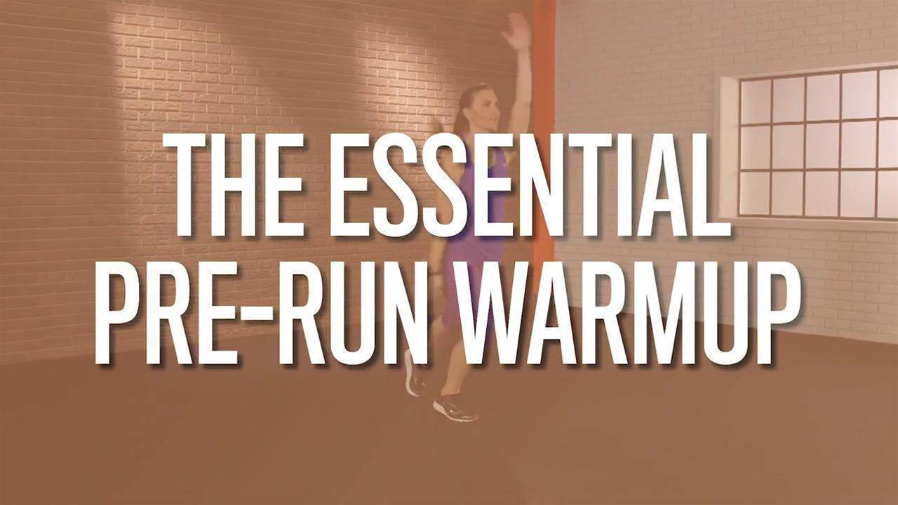The Essential Pre-Run Warmup