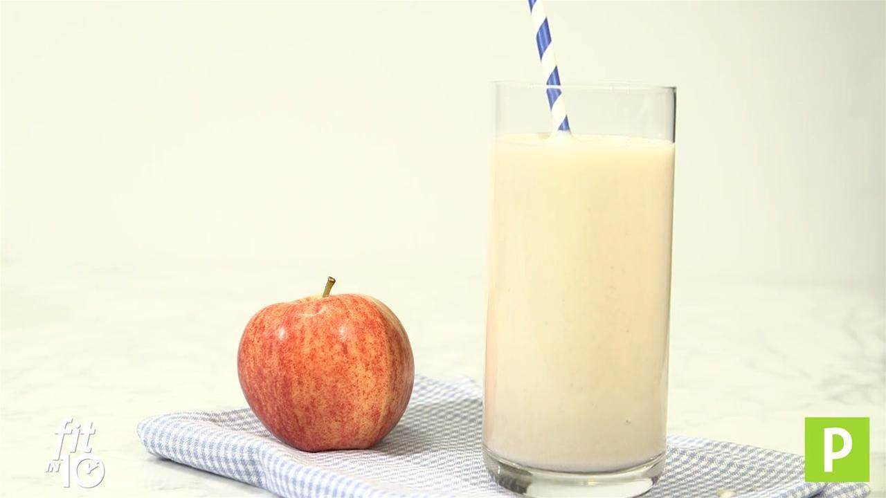 Fit in 10: Apple Pie Smoothie