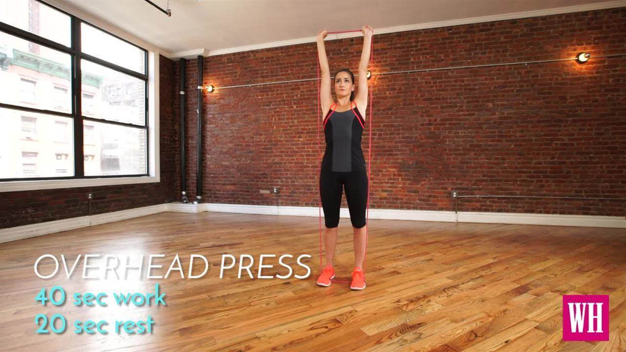 Tone Up Anywhere With This Total-Body Band Workout