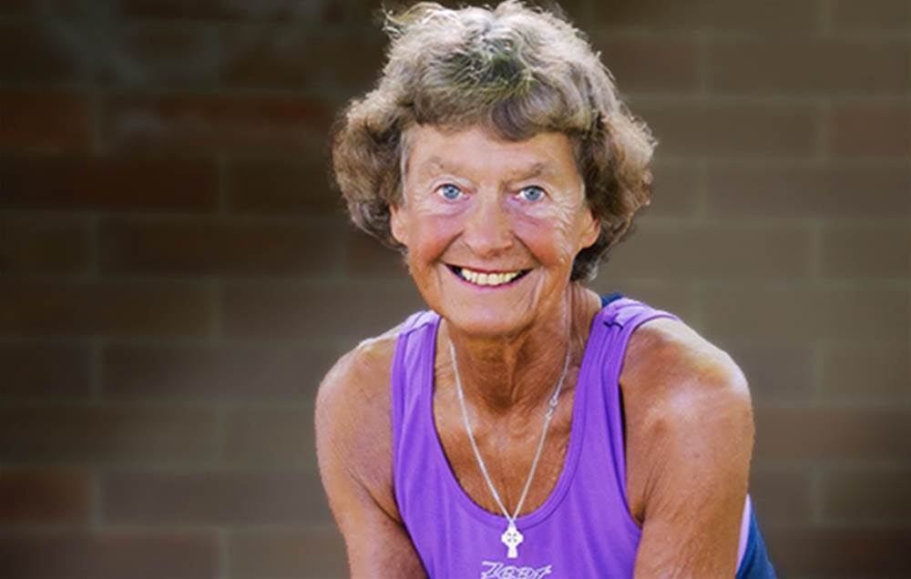 Meet The 87-Year-Old Ironman Triathlete Who's Also A Nun