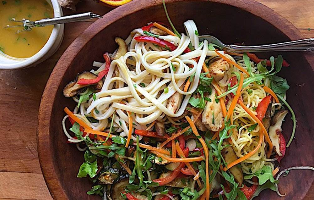 6 Spiralized Summer Salads Almost Too Pretty To Eat