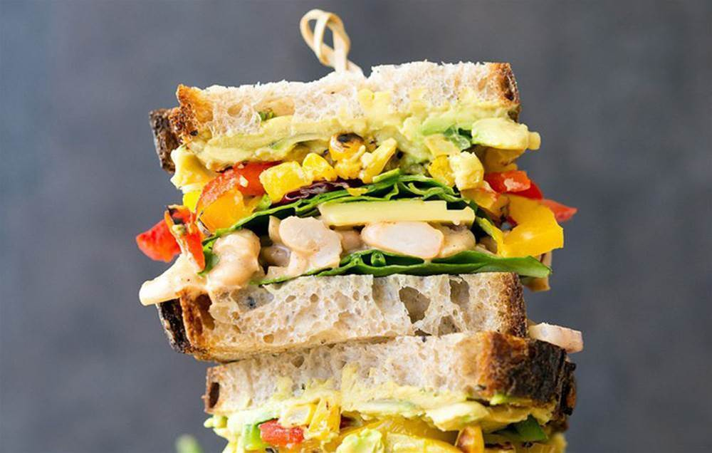 6 High-Protein Sandwiches That Are Totally Meatless—And Seriously Satisfying