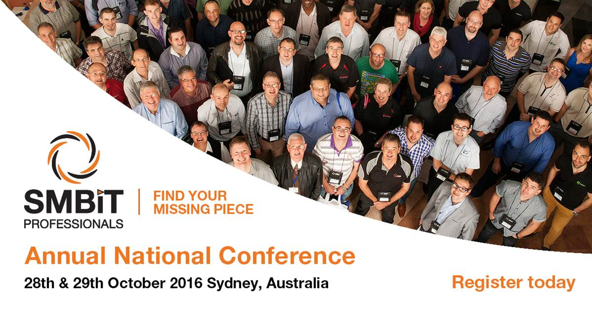 SMBiT Professionals 2016 National Conference
