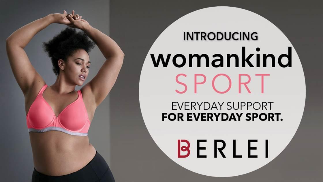 WIN Berlei's Womankind Sports Bra Range In Stylish New Season Colours!
