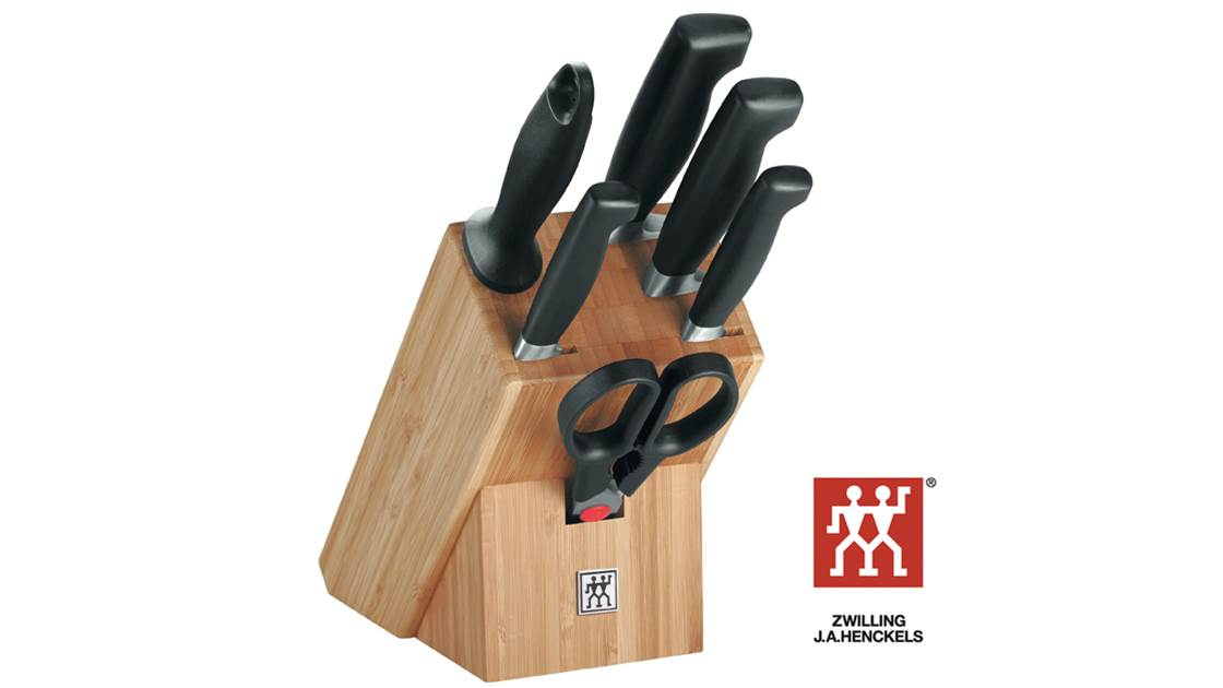WIN 1 of 4 Zwilling J.A. Henckles knife block sets worth $949 each!