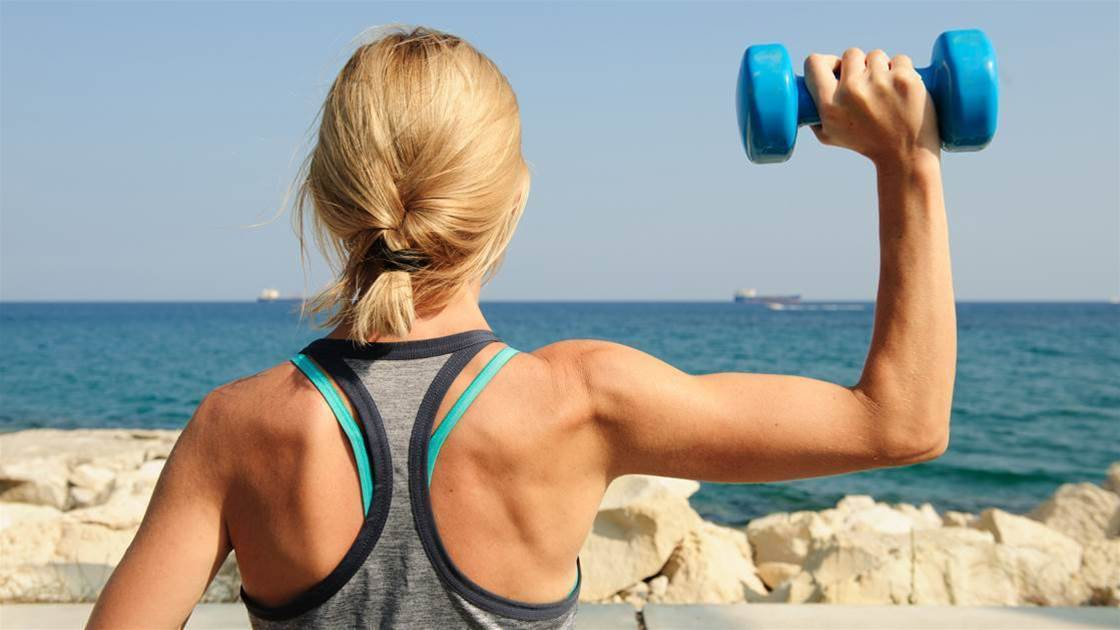 Tone Your Arms and Abs in Half the Time