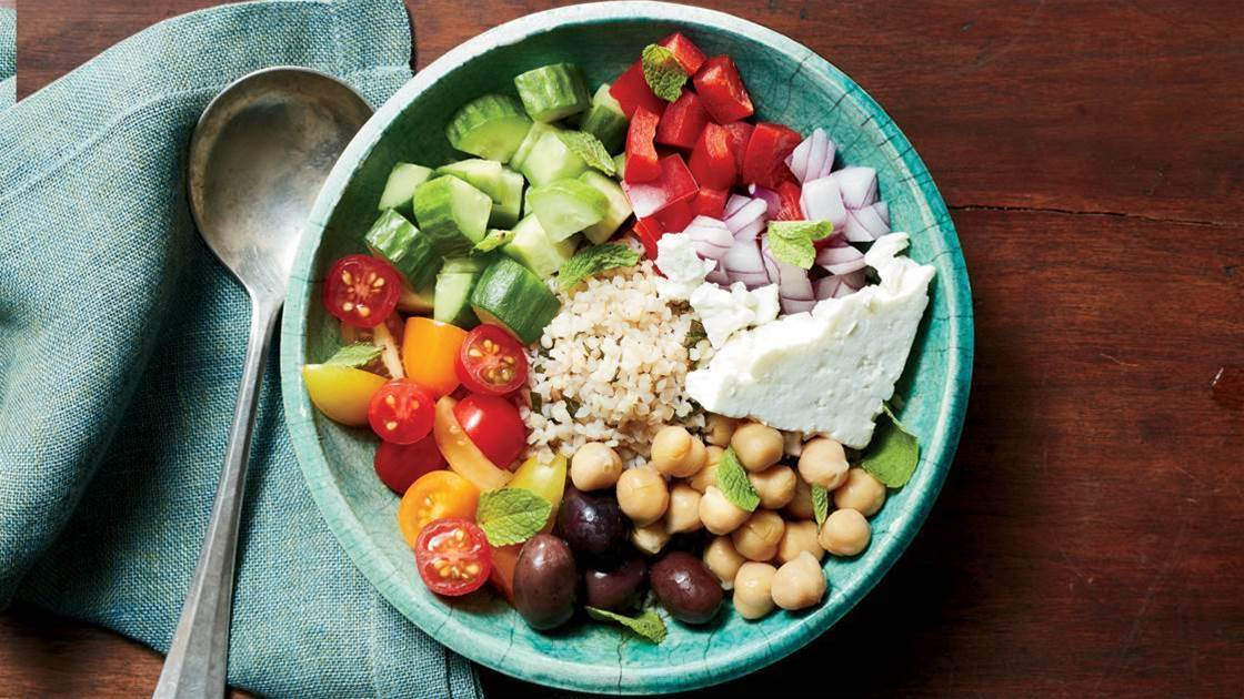 Greek Salad Bowl Recipe