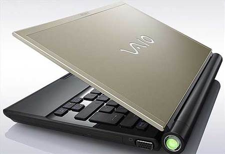 Sony Vaio Z Series - advertised as having up to 5.5 hours battery life