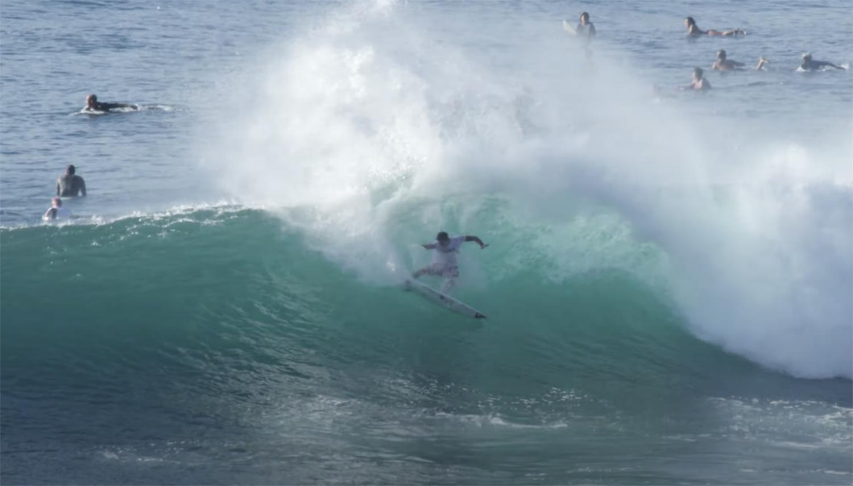 Watch: Zeke Lau Obliterate Pumping Honolua Bay