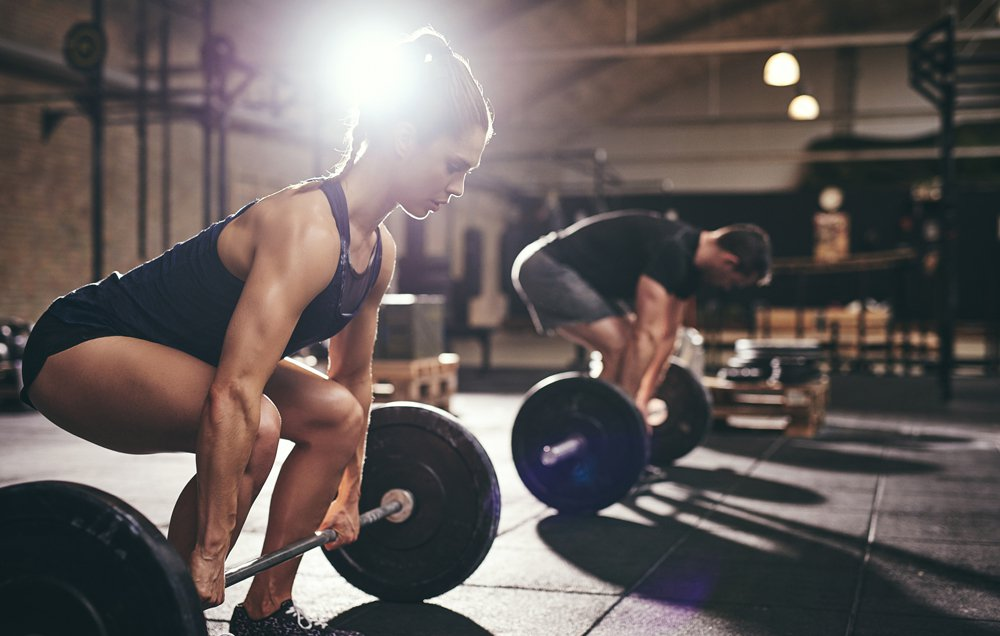 Barbell or Dumbbell Deadlift