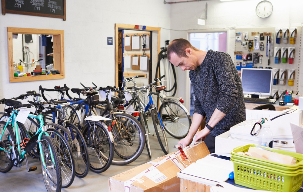 Bikes ordered online are ready to ride
