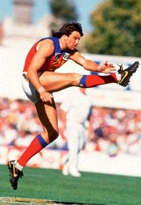 Paul Roos the 269-time Fitzroy Lion.