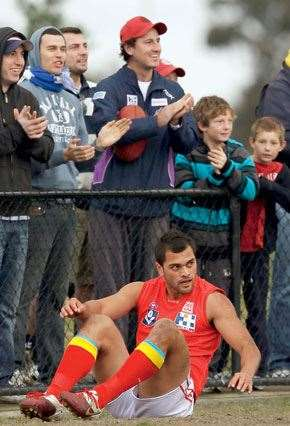 Karmichael Hunt will be knocked down, but he'll get up again ... he has to.