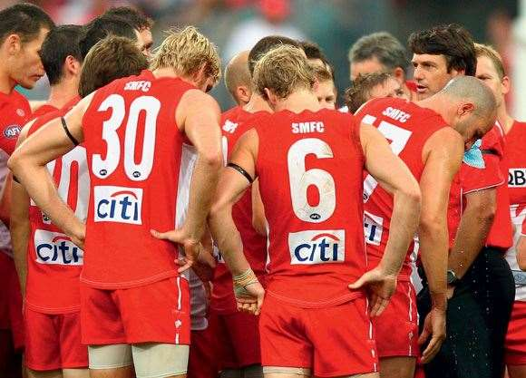 When Roos brings the Swans in close, his charges listen up – always have