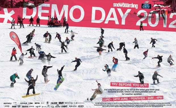 ANZ Snowboarding Demo Day 2012