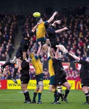 John Eales Rugby Wallabies