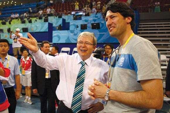 John Eales, Kevin Rudd, Mentoring,