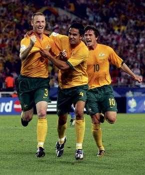 Tears of joy flowed following Craig Moore's penalty  vs Croatia at the 2006 World Cup.