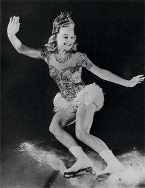 Sonja Henie's ice spectaculars were worldwide hits
